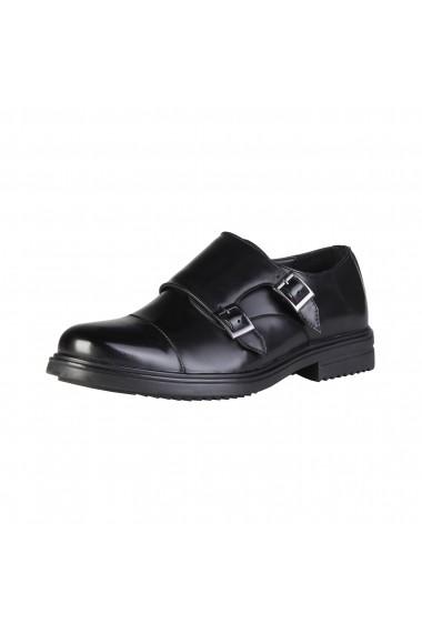 Pantofi Duca di Morrone EDWARD_BLACK
