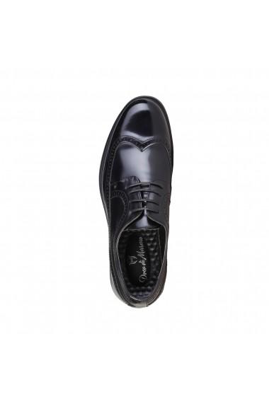 Pantofi Duca di Morrone RICHARD_BLACK negru - els