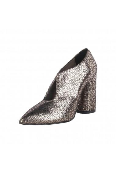 Pantofi cu toc Made in Italia MARGHERITA PLATINO auriu