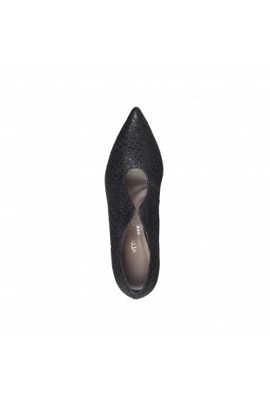 Pantofi cu toc Made in Italia MARGHERITA NERO negru