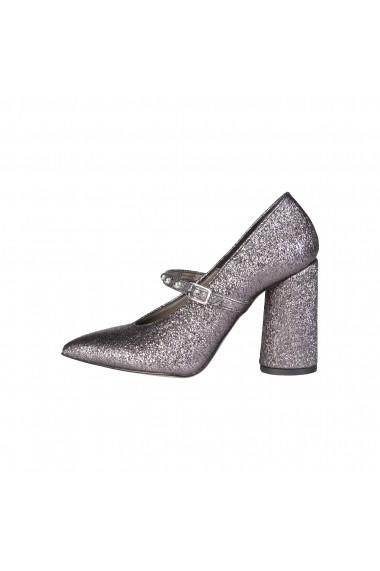 Pantofi cu toc Made in Italia AMELIA CANNADIFUCILE argintiu