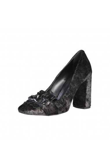 Pantofi cu toc Made in Italia ENRICA NERO negru