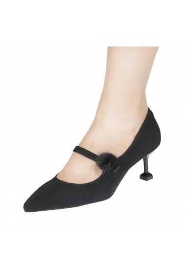 Pantofi cu toc Made in Italia CAROLINA NERO negru