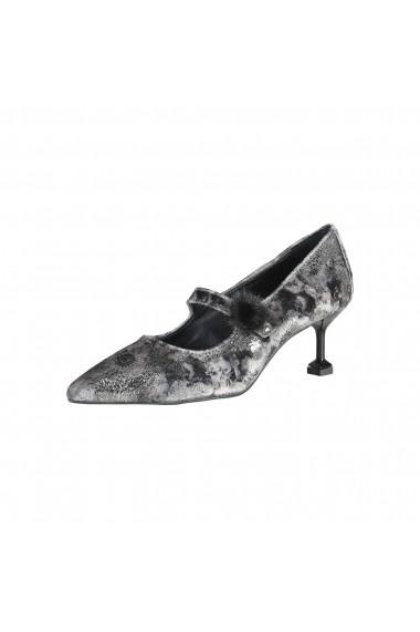 Pantofi cu toc Made in Italia CAROLINA V NERO negru
