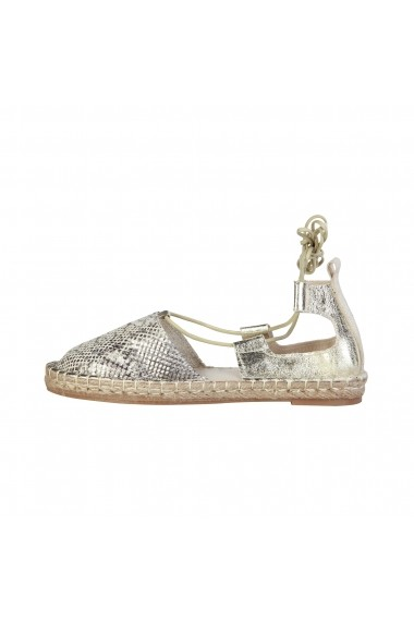 Sandale plate Ana Lublin RAISSA ORO auriu