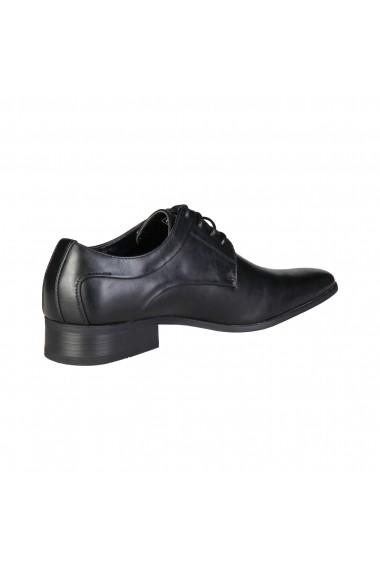 Pantofi Duca di Morrone SMITH_BLACK Negru