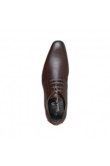 Pantofi Duca di Morrone SMITH_BROWN Maro