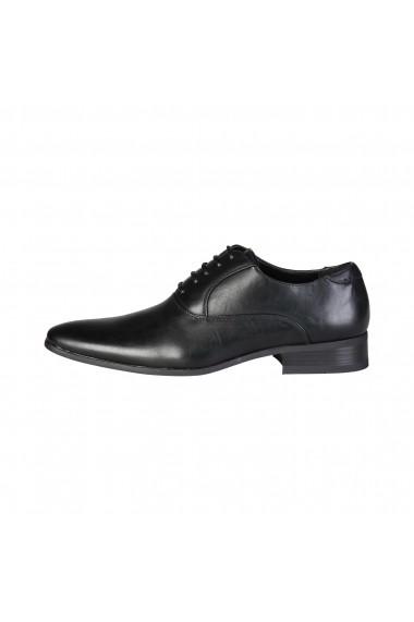 Pantofi Duca di Morrone JOSH_BLACK Negru - els