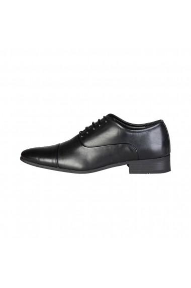 Pantofi Duca di Morrone EMERY_BLACK Negru