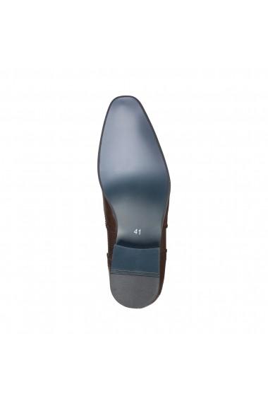 Pantofi Duca di Morrone SCOTT_BROWN Maro