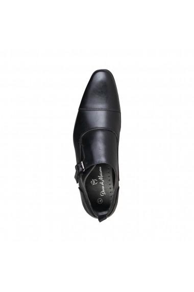 Pantofi Duca di Morrone RADCLIFF_BLACK Negru