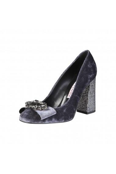 Pantofi cu toc Fontana 2.0 CHRIS GRIGIO-INOX gri
