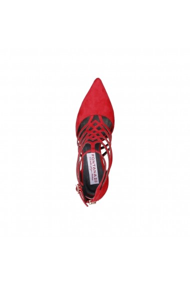 Pantofi cu toc Fontana 2.0 STELLA_ROSSO Rosu