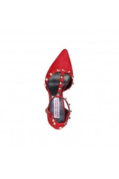 Pantofi cu toc Fontana 2.0 VICKY_ROSSO Rosu