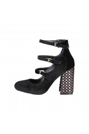 Pantofi cu toc Fontana 2.0 GIULIA_NERO Negru