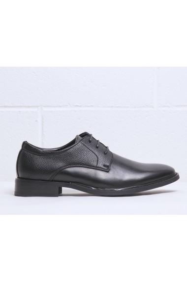 Pantofi Duca di Morrone BART_BLACK Negru