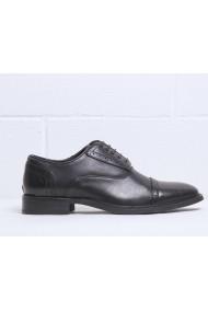 Pantofi Duca di Morrone DRAKE_BLACK Negru