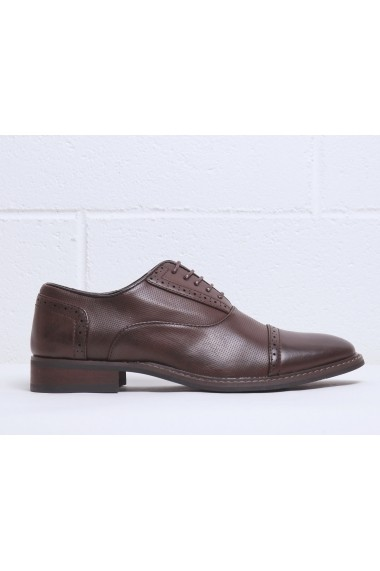 Pantofi Duca di Morrone DRAKE_BROWN Maro