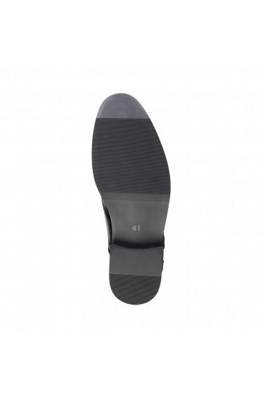 Pantofi Duca di Morrone HOLDEN_BLACK Negru