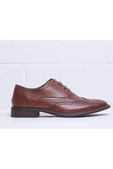 Pantofi Duca di Morrone HOLDEN_BROWN - els