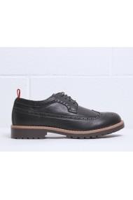 Pantofi Duca di Morrone BRADFORD_BLACK