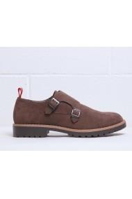 Pantofi Duca di Morrone RAMSEY_BROWN Maro