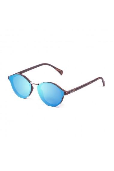 Ochelari de soare Ocean Sunglasses 10307-1_LOIRET_MATTEDEMYBROWN-BLUE albastru
