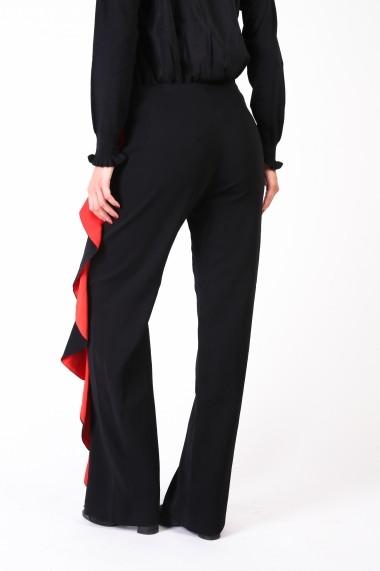 Pantaloni drepti Pinko 1B12B0-6326 ZR4 negru