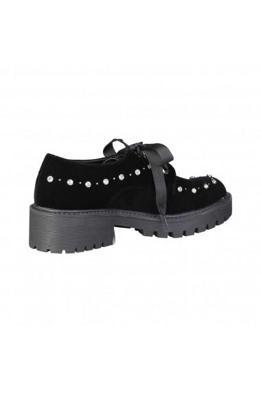 Pantofi Laura Biagiotti 2255_BLACK negru