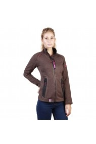 Hanorac Geographical Norway Tazzera woman darkbrown maro