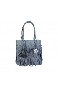 Чанта Laura Biagiotti LB17W117-2_JEANS синьо