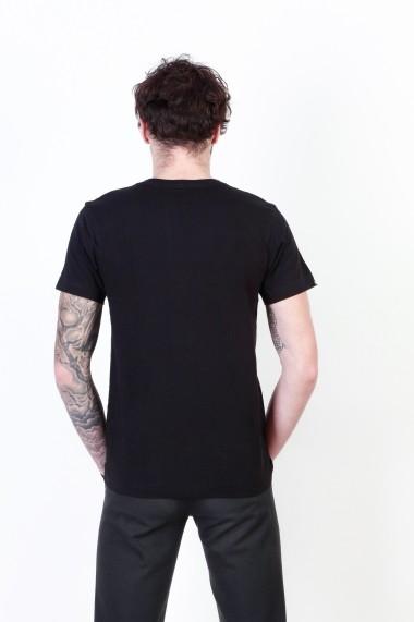 Tricou Seventy Seven 77MTS237_BLACK negru