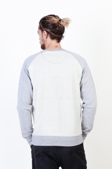 Bluza Putney Bridge PBMCS021 GREY gri