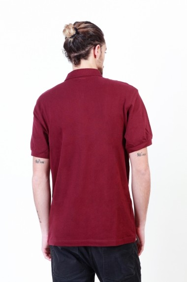 Tricou Putney Bridge PBMPT026_BURGUNDY bordo