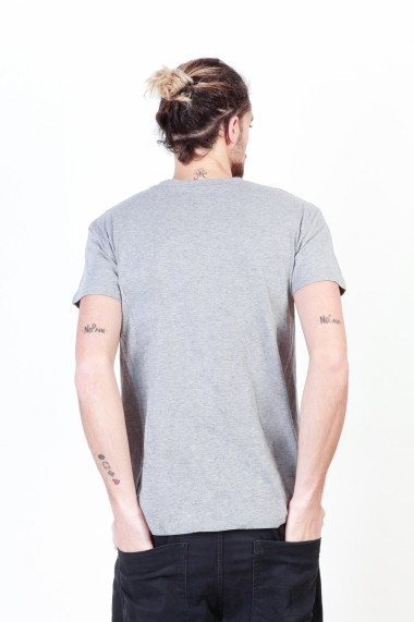 Tricou Putney Bridge PBMTS013_GREY gri