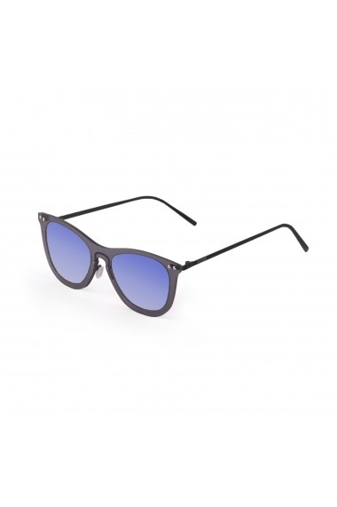 Ochelari Ocean Sunglasses 23-18_GENOVA_TRANSPARENTBLUE-BLACK negru