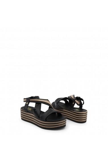 Sandale plate Ana Lublin DINAH NERO negru - els