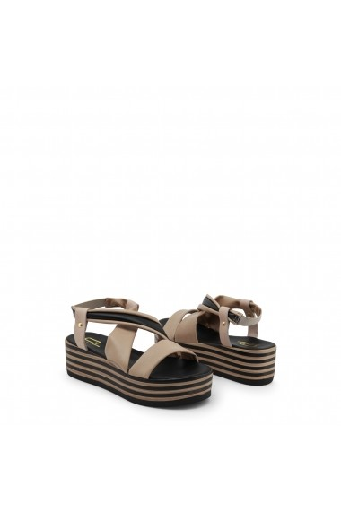 Sandale cu toc Ana Lublin DINAH_AVANA