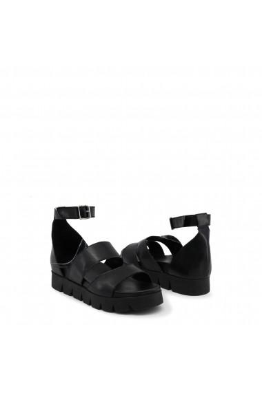 Sandale cu toc Ana Lublin DOROTEIA_NERO negru