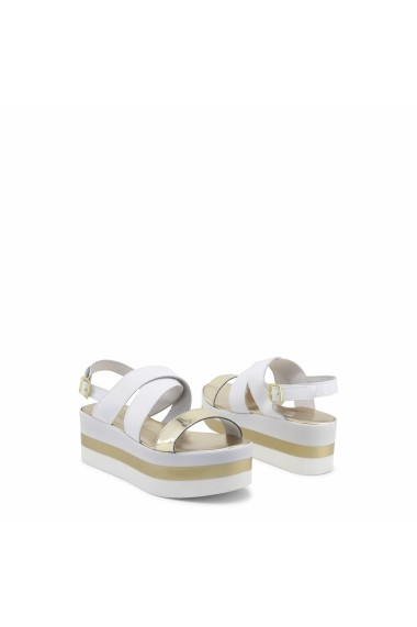 Sandale cu toc Ana Lublin OTAVIA_PLATINO