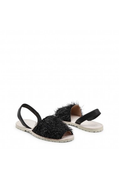 Sandale cu toc Ana Lublin GISELA_NERO negru