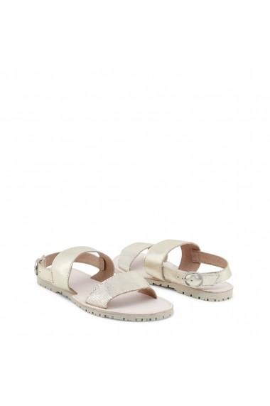 Sandale cu toc Ana Lublin FILIPA_BIANCO alb