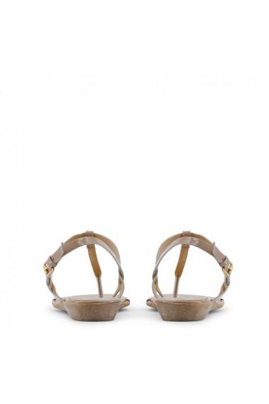Sandale plate Arnaldo Toscani 184902 CASTORO Bej