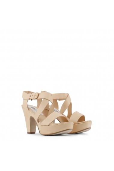 Sandale cu toc Arnaldo Toscani X003316_NATURALE