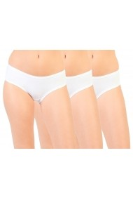 Set 3 perechi slipuri Pierre Cardin PC_3UVA_3pack_BIANCO alb