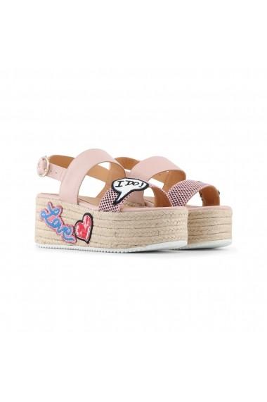Sandale cu toc Love Moschino JA16087I15IC_160A roz