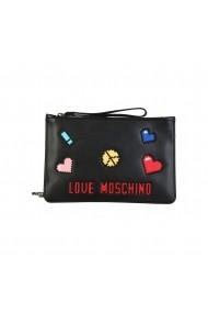 Чанта тип плик Love Moschino JC4071PP15LH_0000 черно