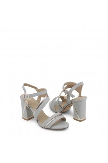 Sandale cu toc Laura Biagiotti 645_CALF_LTGREY