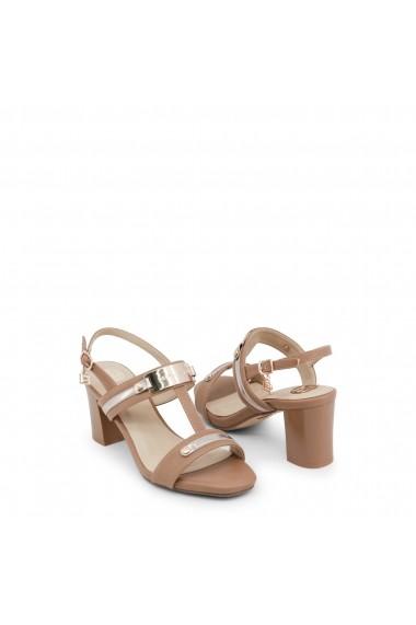 Sandale cu toc Laura Biagiotti 649_CALF_SAND