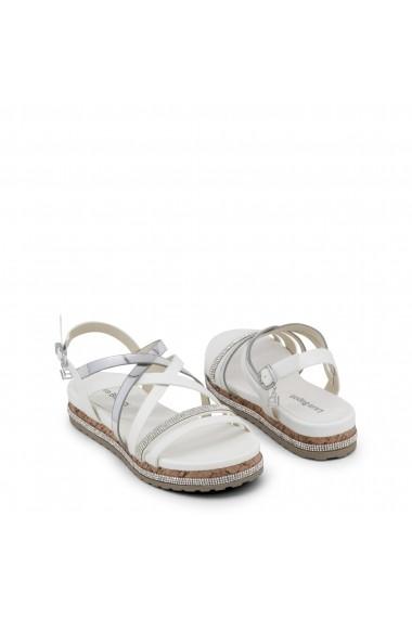 Sandale cu toc Laura Biagiotti 762_MATT_WHITE alb - els